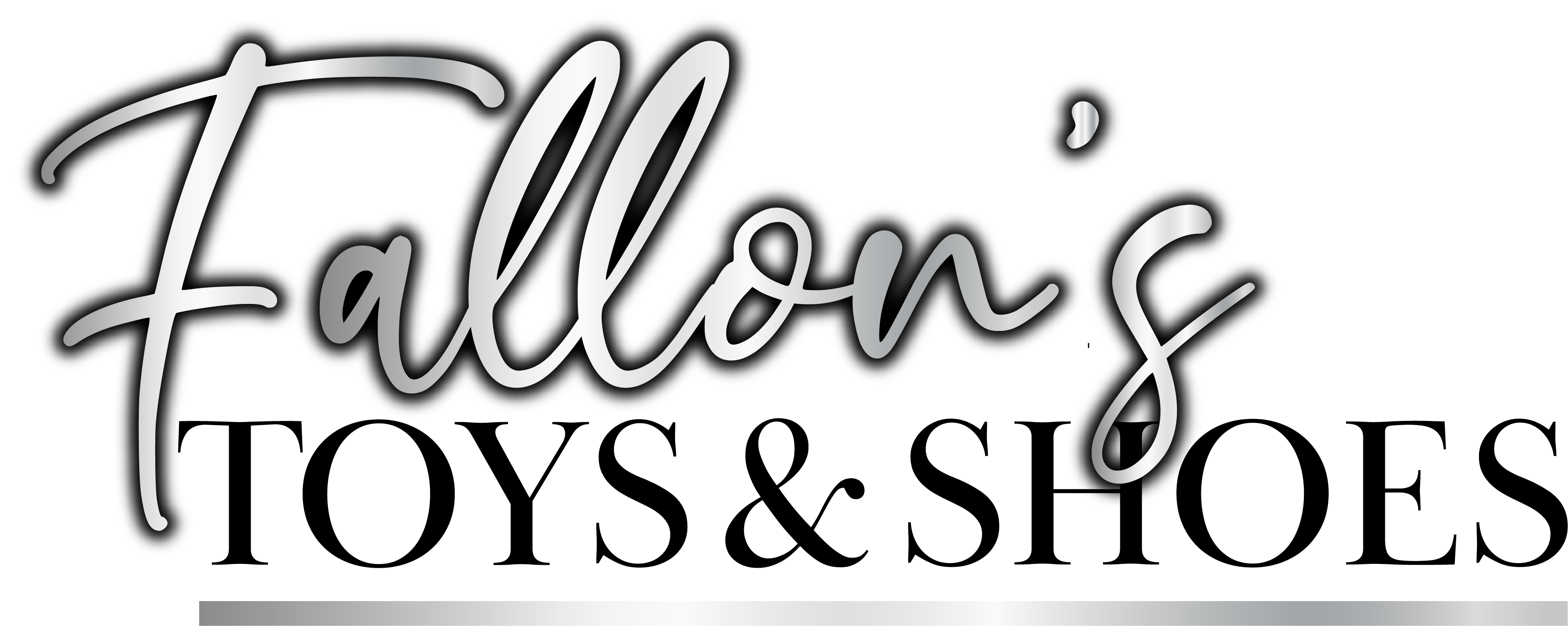 Fallons Toys & Shoes logo