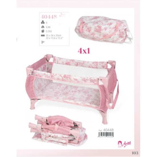 Arias Valentina Travel Cot 40448