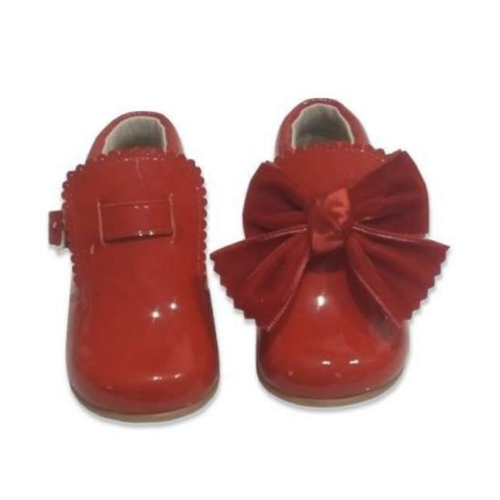 5161 Mara Red Bow Boot