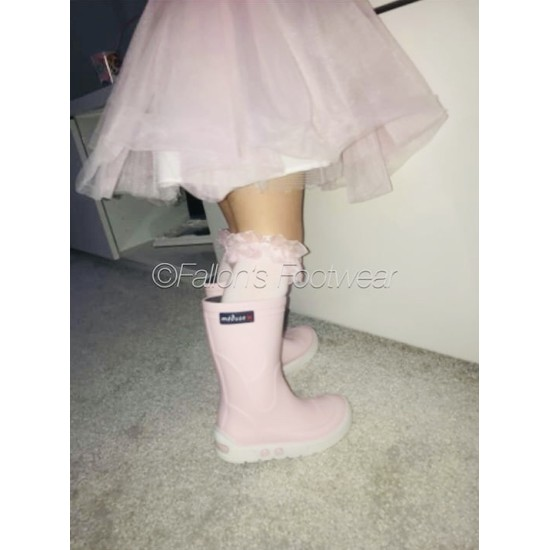 Meduse Pale Pink Welly