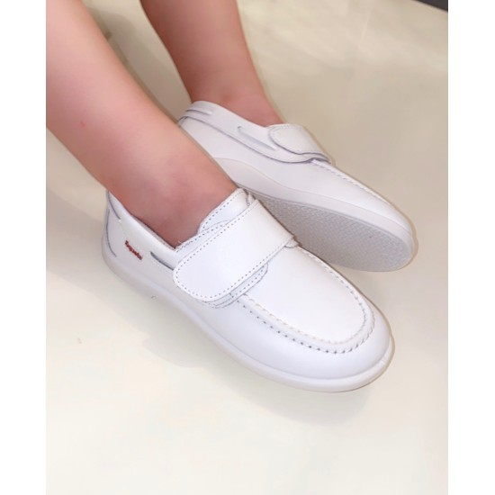 Nautical White Loafer  80500