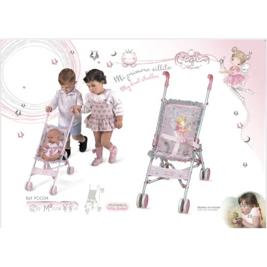 Small Pink Buggy (Maria)(under 3's)
