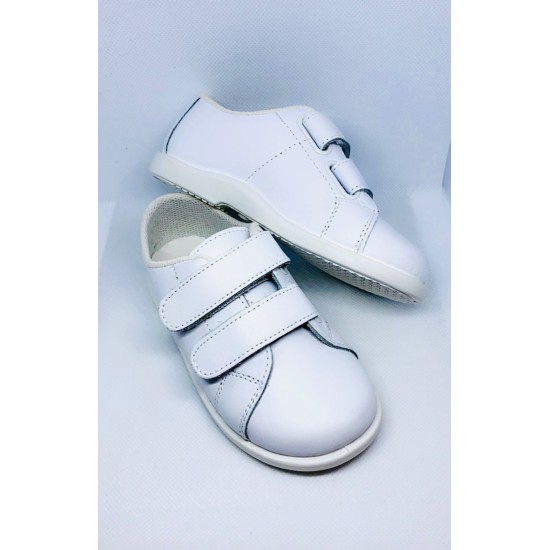 Theo White Trainers